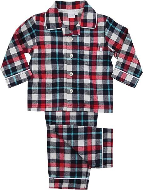 Pijama de algodón de Cuadros Tradicionales de Vanilla London: Este ...