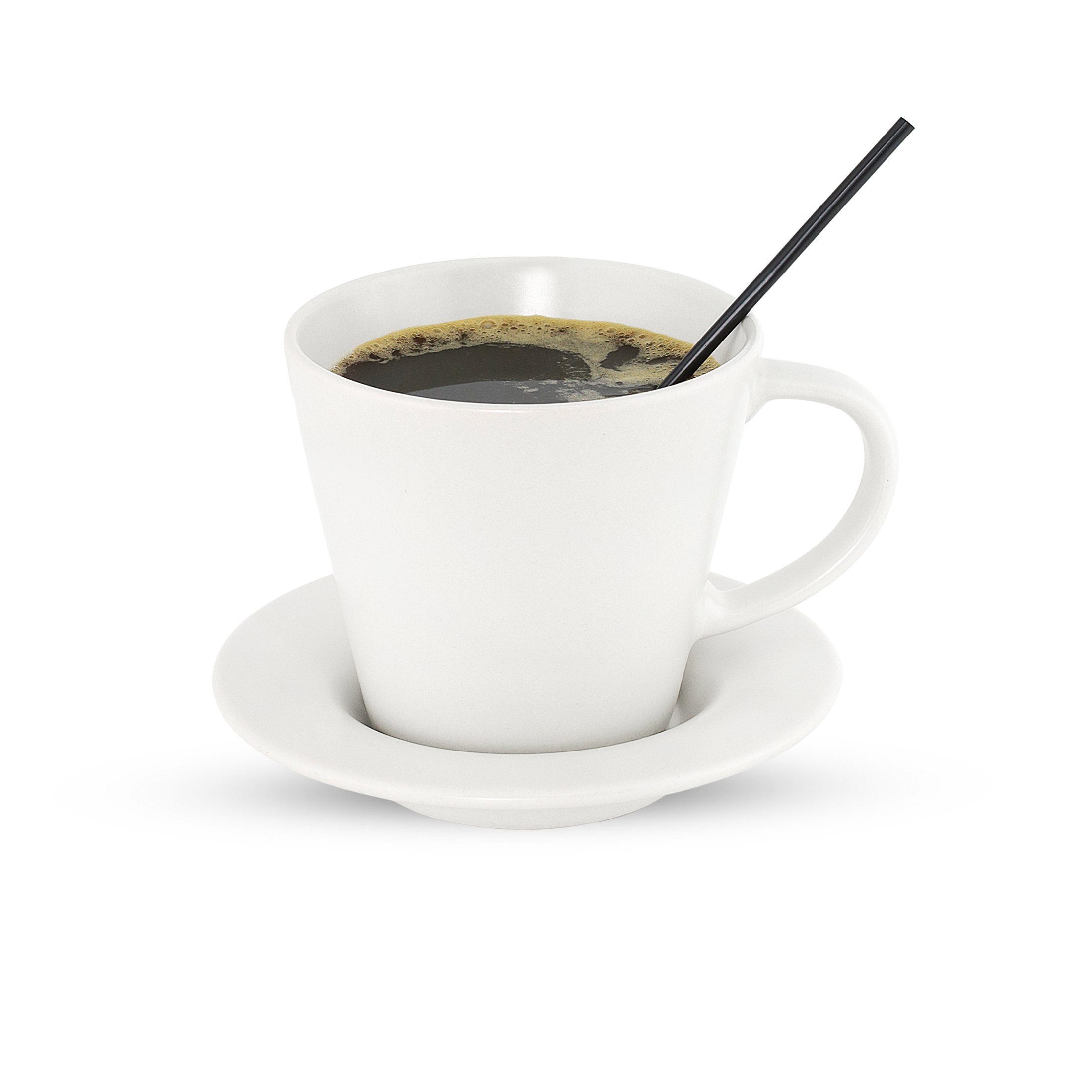 Disposable Plastic Coffee Stirrer Straw - 5 Inch Sip Stir Stick (Black, 2,000) by Rupert and Jeoffrey's Trading Co. (Image #1)