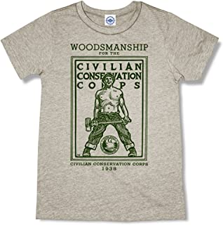 product image for Hank Player U.S.A. CCC (Civilian Conservation Corps) Woodsmanship Men's T-Shirt