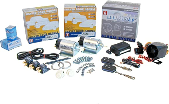 50 lbs AutoLoc Power Accessories 129184 4 Function Remote Shaved Door Popper Kit,