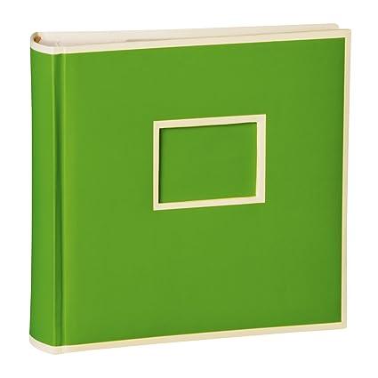 200 Pockets Album de fotos, verde tilo +++ 50 hojas ...
