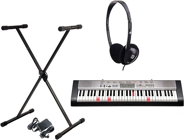 Casio LK de 130 Bombilla teclas teclado (Incluye soporte para ...