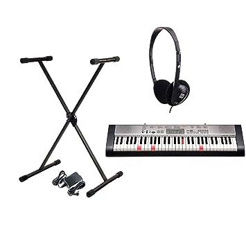 Casio LK de 130 Bombilla teclas teclado (Incluye soporte para teclado, auriculares y fuente de alimentación: Amazon.es: Instrumentos musicales