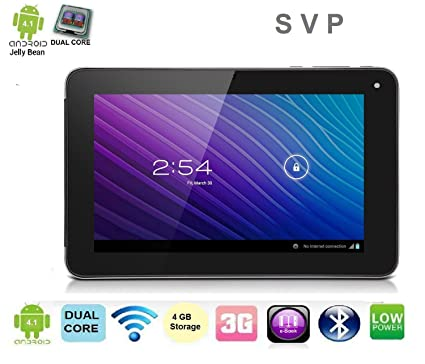 Brilliant Svp 7 Inch Dual Core Android 4 1 4Gb Tablet Wifi 3G Hdmi 3D Download Free Architecture Designs Intelgarnamadebymaigaardcom