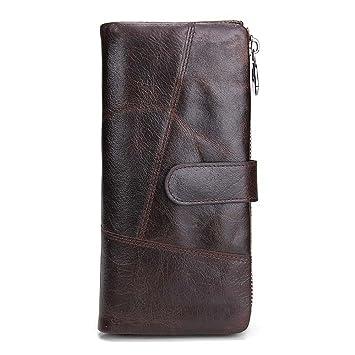 7e741af26e26 NHGY Long Men's Leather Wallet, Belt Buckle, Fashionable Hand held ...