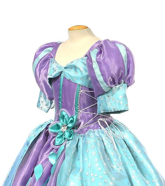 Amazon.com: MylittlelizShop Disney Little Mermaid Princess Dress ...
