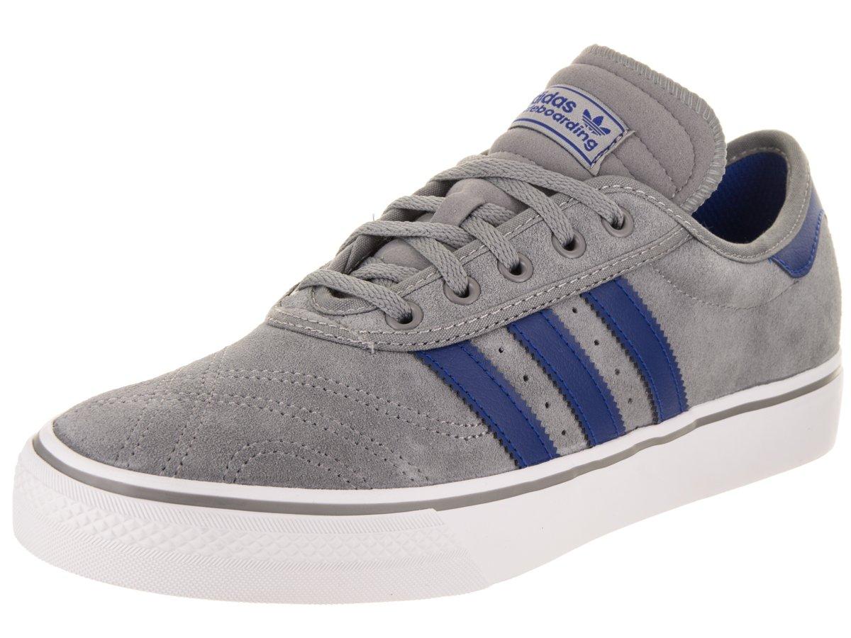 adidas メンズ B0734DJ394 9.5 D(M) US Grey/Royal/White