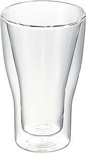 Luigi Bormioli 10355/01 Thermic 11.5 oz Macchiato Double-Wall Latte Glasses, Set of 2, Clear