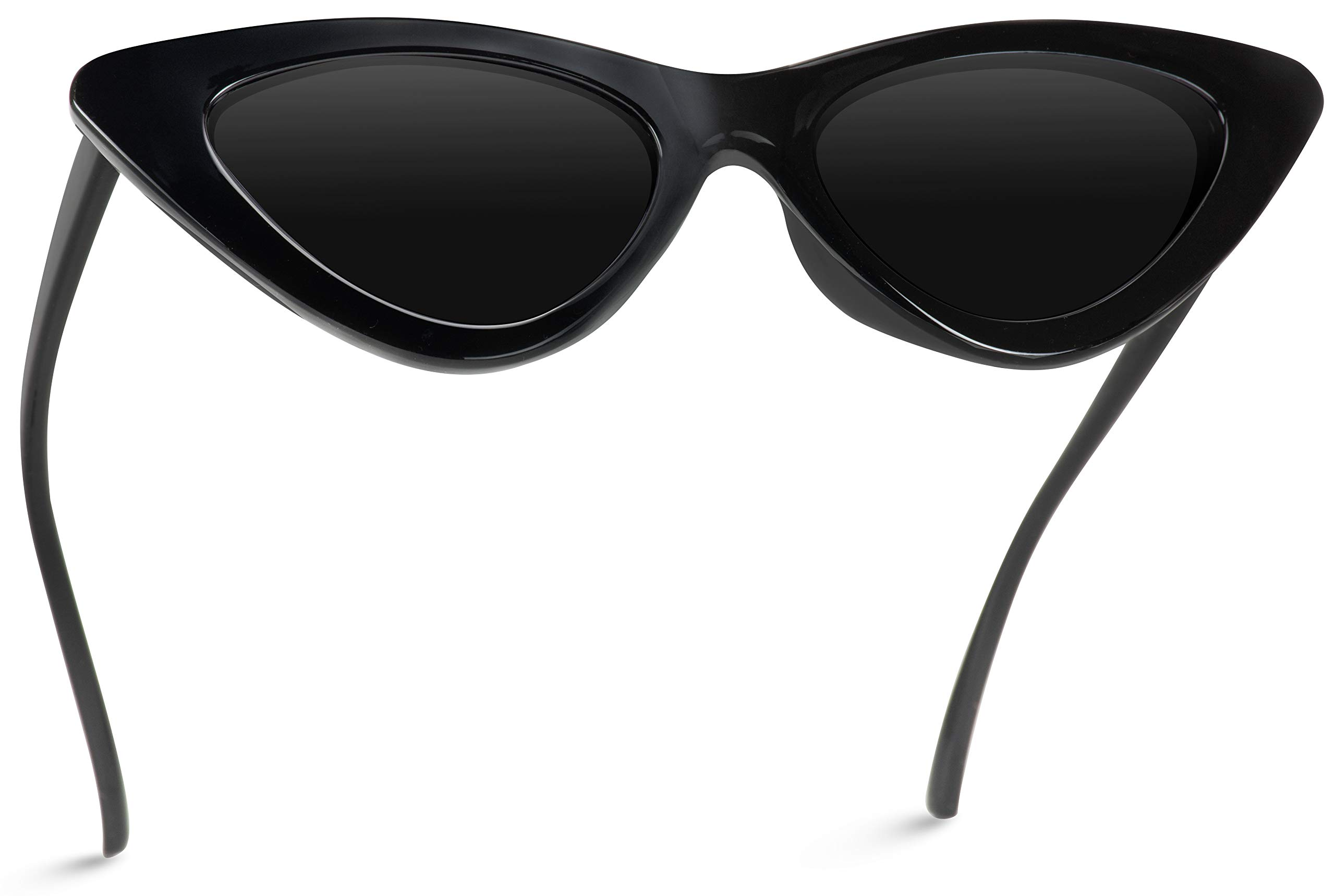 WearMe Pro - Retro Vintage Tinted Lens Cat Eye Sunglasses by WearMe Pro