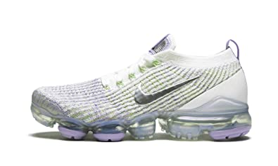 check out 33876 5be9b Amazon.com | Nike Air Vapormax Flyknit 3 (True White/Purple ...