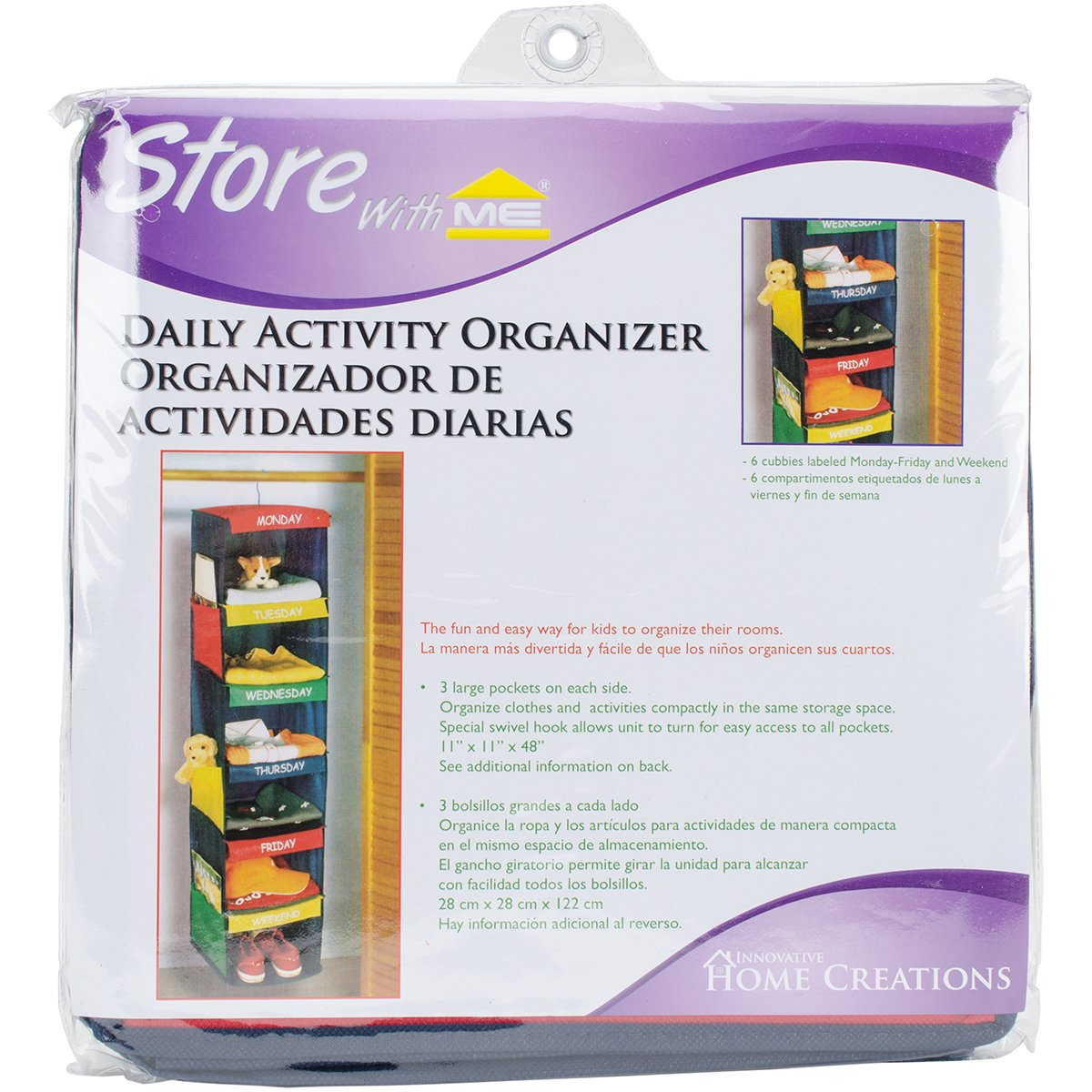 kids hanging closet organizer. Interesting Closet Amazoncom DAILY ACTIVITY ORGANIZER  6 SHELF HANGING CLOSET  11 On Kids Hanging Closet Organizer K