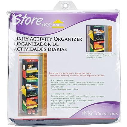 daily activity organizer 6 shelf hanging closet 11quot