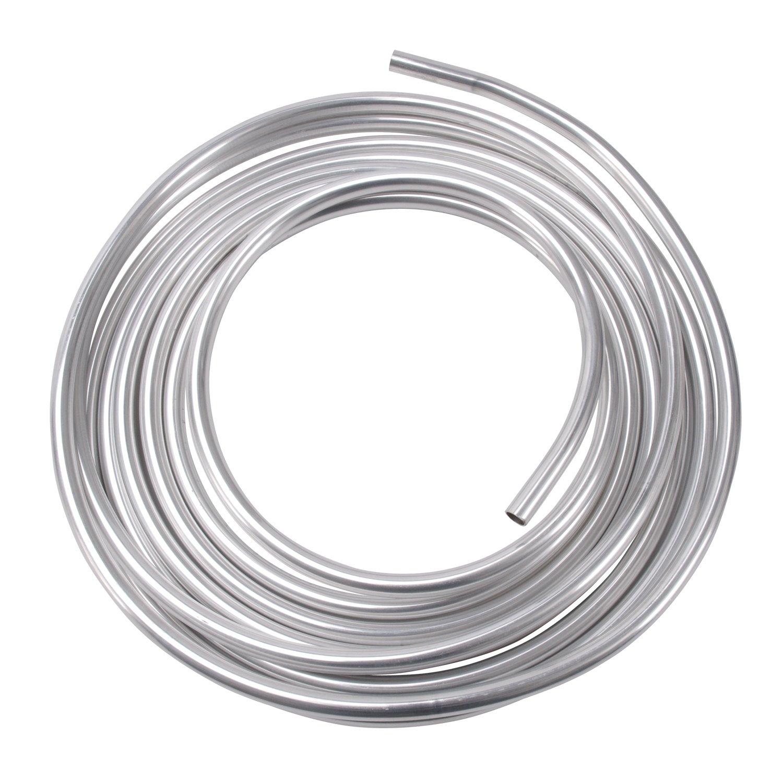 Edelbrock/Russell 639490 Natural Aluminum Fuel Line RUS-639490