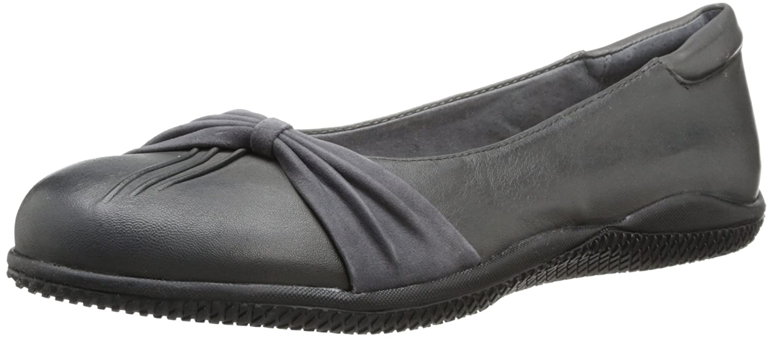SoftWalk Women's Haverhill Ballet Flat B00HQQVOM4 6 M US|Grey