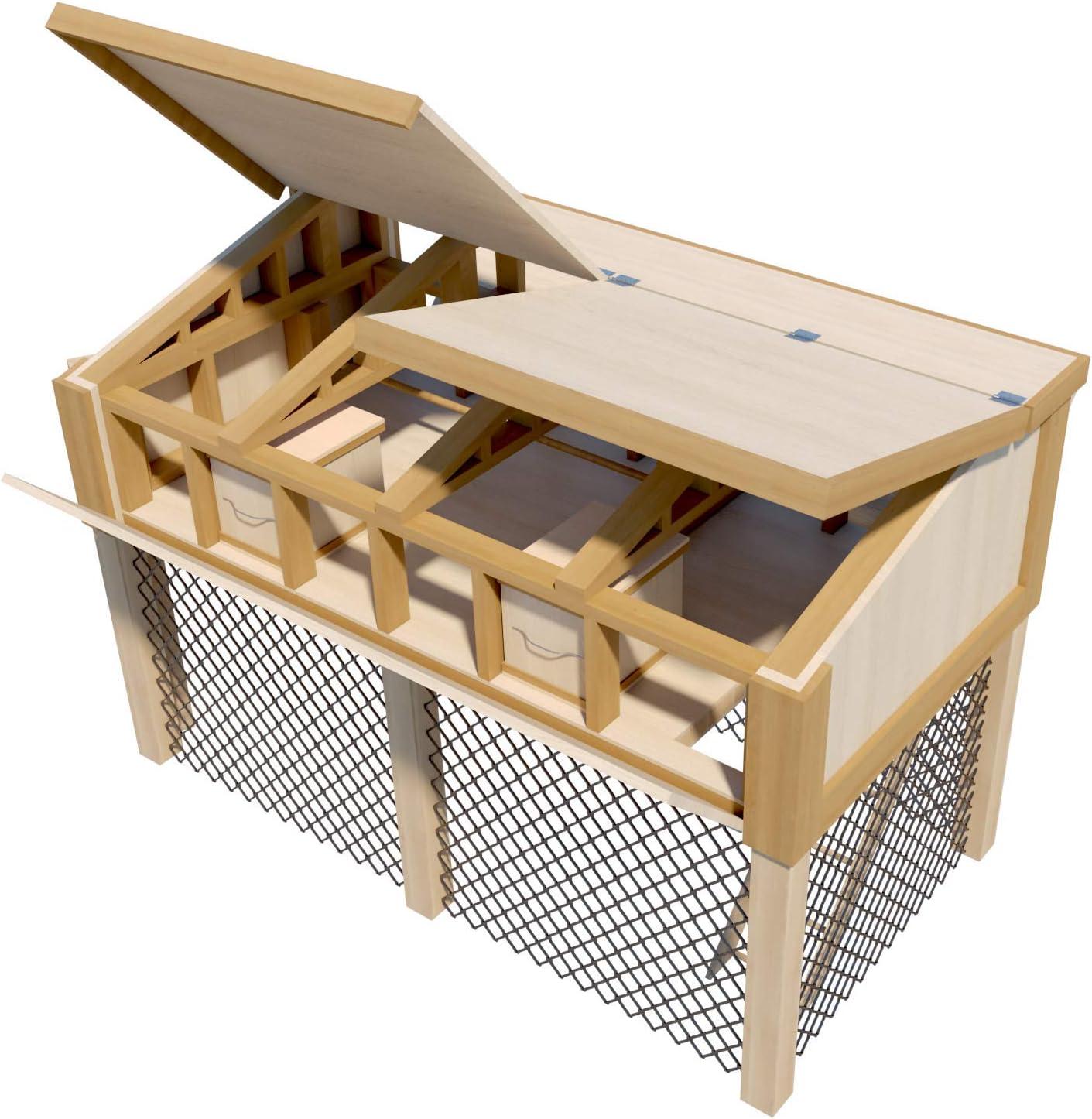 Amazon Com Portable Chicken Coop Plans With Kennel Run Diy Hen