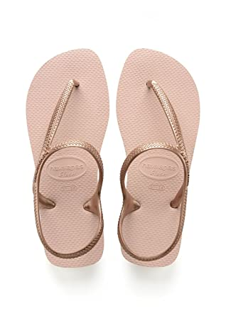 cc58f341ee2596 Amazon.com  Havaianas Flash Urban Womens Sandals Pink  Clothing