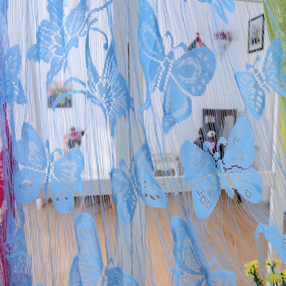 Ying Lan String Schmetterling Tur Fenster Vorhang Drapes Trennwand