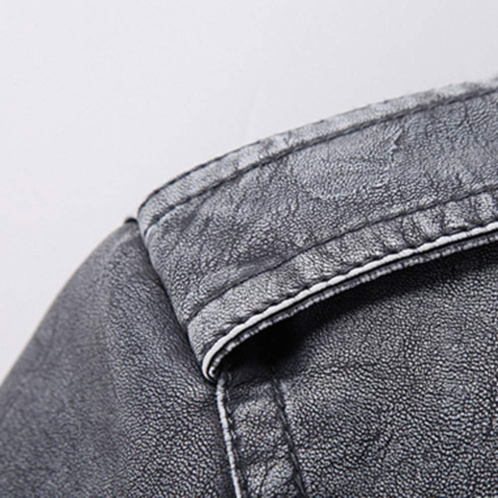 Pervobs Mens Casual Jacket Coat Lightweight Thermal Full Zipper Pocket Coat Outwear Overcoat Clearance Mens Coat