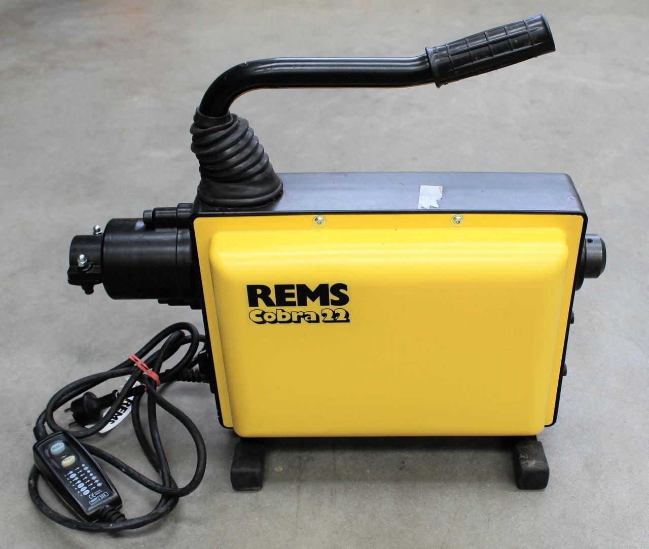 Rems Rohrreinigungsmaschine Cobra 22 Elektro 172000 Rohrreinigung