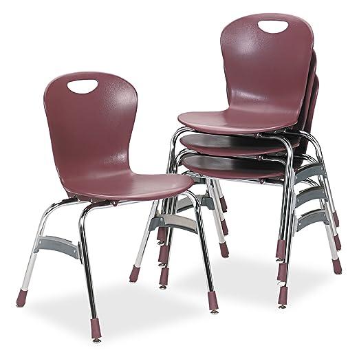 Amazon.com: virco Pila silla ergonómica, 18