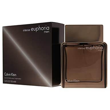 CALVIN KLEIN EUPHORIA MEN INTENSE agua de tocador vaporizador 100 ml: Amazon.es