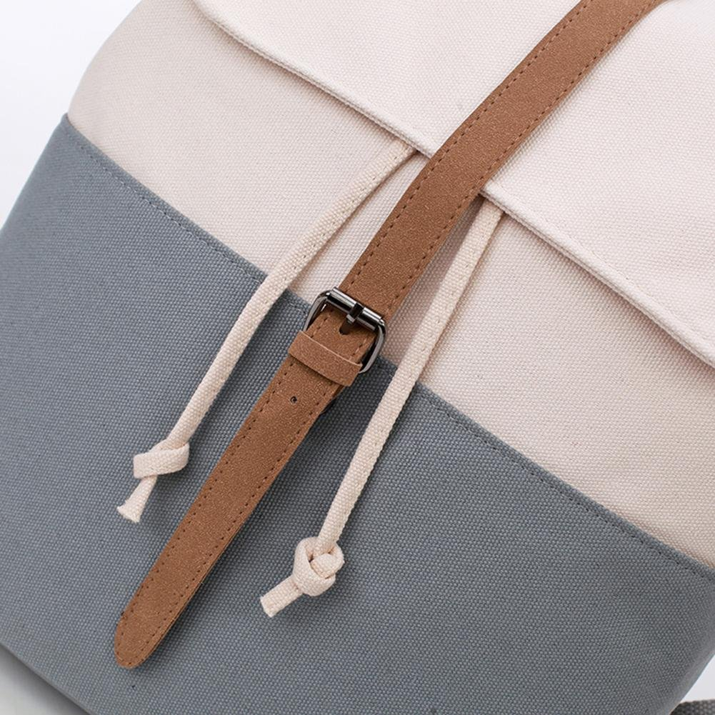 Gowind7 Women Bag Backpack Shoulder Bag Canvas For Girls School Bags Flip Leisure