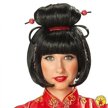 Rubies 5 4207 - Peluca geisha para niña