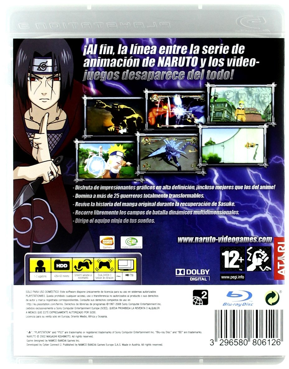 Naruto Ultimate Ninja Storm: Amazon.es: Videojuegos