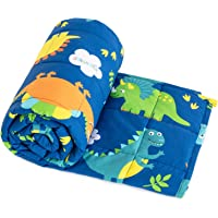 """Topblan Kids Weighted Blanket 3 lbs 36""""x48"""" for Children, 100% Natural Cotton with Premium Glass Beads, Calming Kids…"""