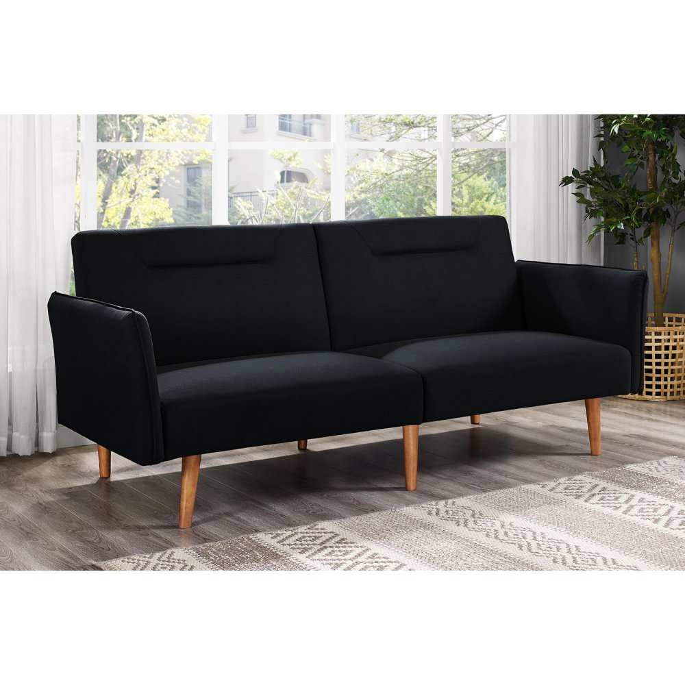 abbyson ebay sleeper sofa team faux futon l leather newport