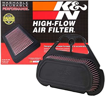 High Flow Air Filter For 2011 Yamaha YZF-R6 Street Motorcycle~K/&N YA-6008