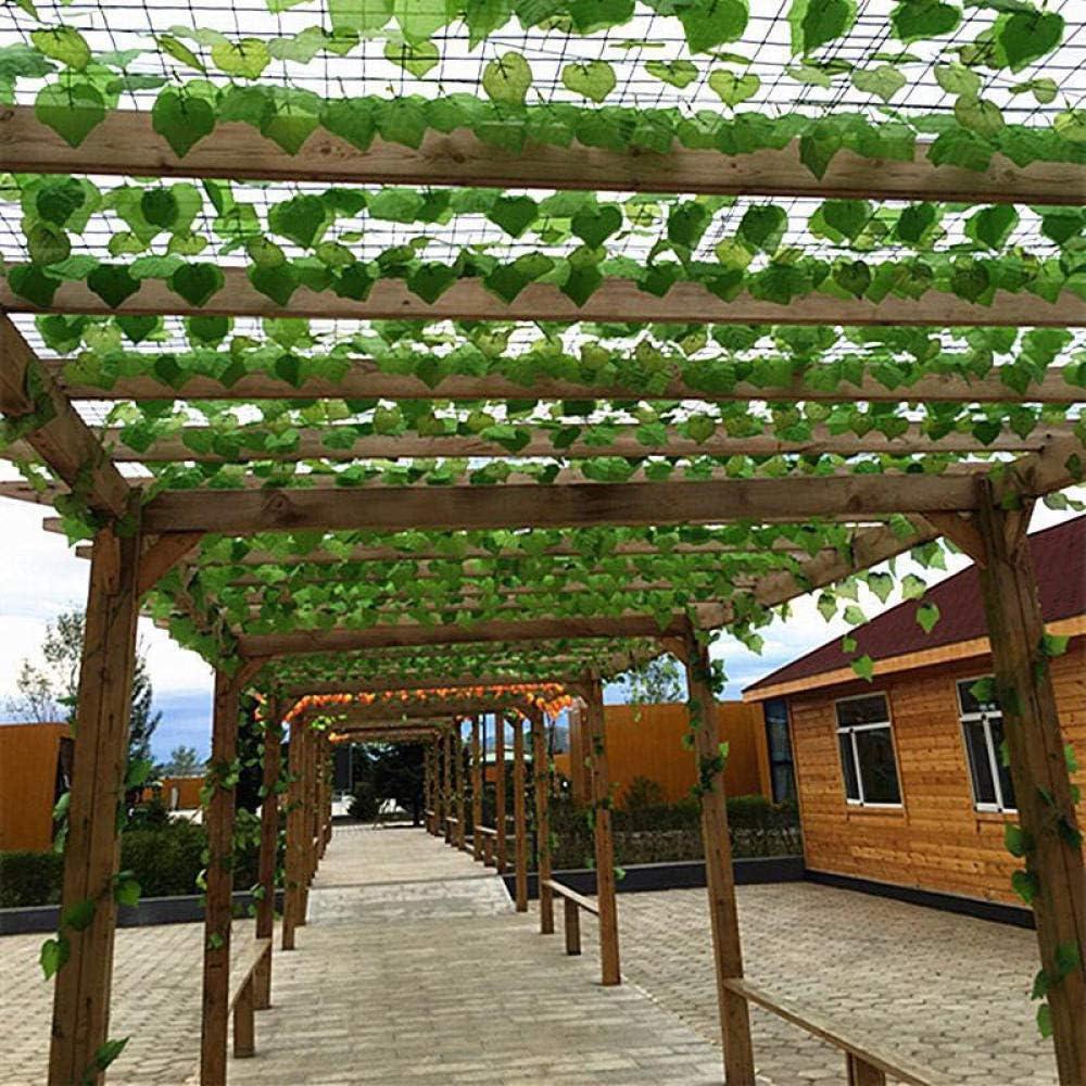 Home+Vid De Flor Artificial Plantas De Simulación Largas De 2M Hojas De Hiedra Verde Vid De UVA Falsa Cadena De Flores Artificiales Follaje Hojas Inicio Boda Jardín Decoración 10Pcs @ Green_Radish_Le: Amazon.es: