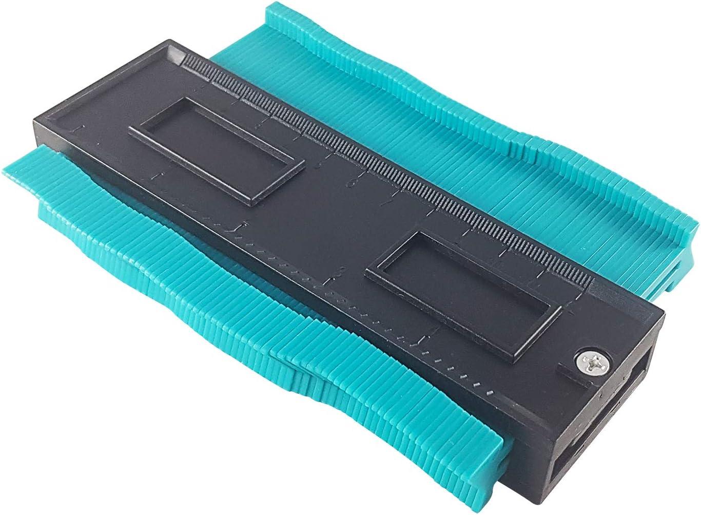 CZ Store®-medidor duplicador de contornos -GARANTÍA DE POR VIDA- Plantilla de corte de plástico - copiadora de contornos para materiales de madera/acero inoxidable/carrocerías: Amazon.es: Bricolaje y herramientas