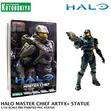 Amazon.com: Kotobukiya Halo Master Chief ArtFX + pre-painted ...
