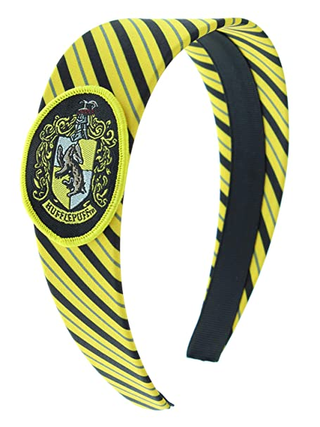 Harry Potter Headbands For Women And Girls' Hogwarts Houses Gryffindor Slytherin Ravenclaw Hufflepuff (Hufflepuff) by Bioworld