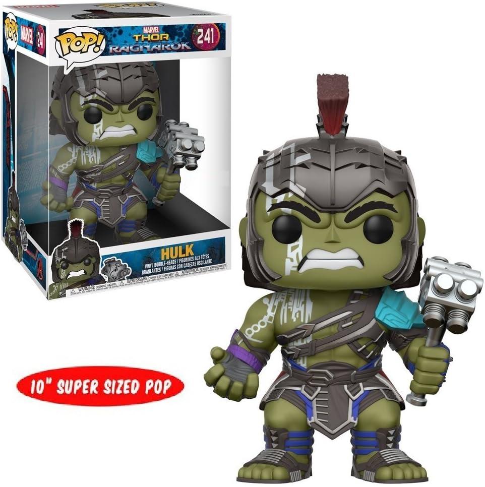 Funko Pop! Thor Ragnarok 10 inch Hulk Target Exclusive # 241 Only Hulk