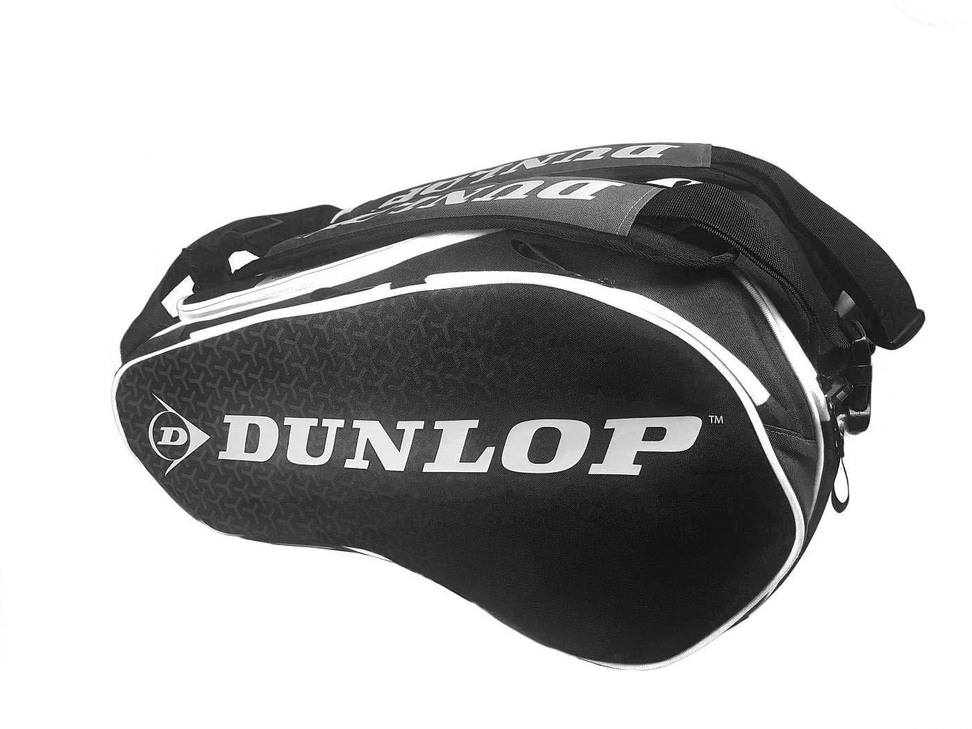 Dunlop Paletero Elite negro Blanco: Amazon.es: Deportes y aire libre