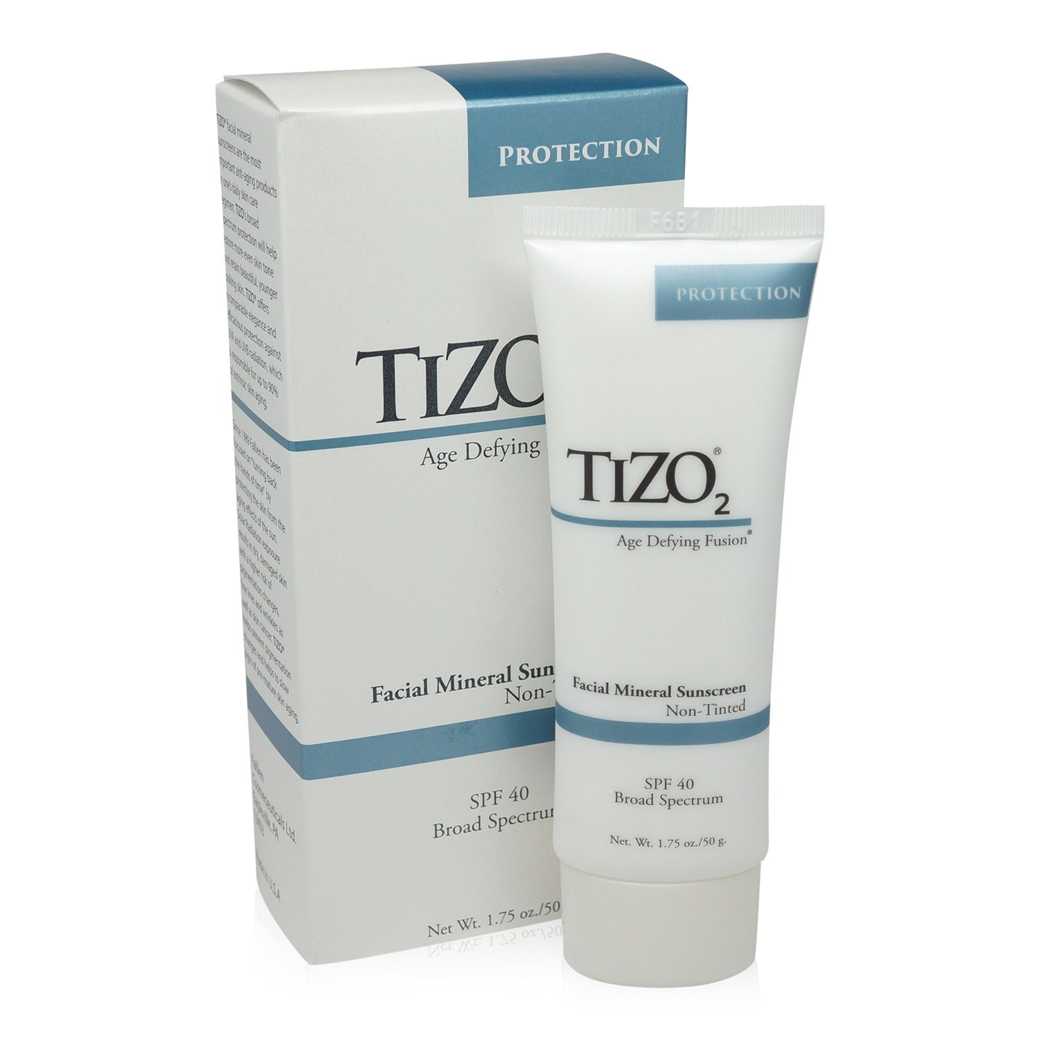 Solar Protection Formula TIZO 2 Facial Mineral Fusion Broad Spectrum Sunscreen SPF 40 - For Light Skin Tones by Solar Protection Formula