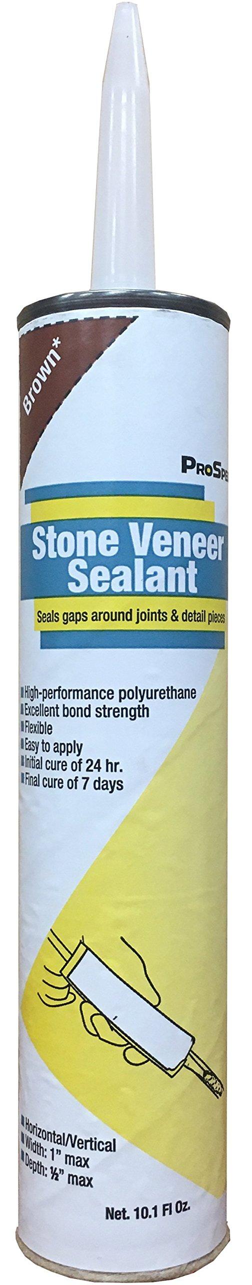 ProSpec Stone Veneer Sealant - Brown - 10.1 oz. (3 Pack) by ProSpec