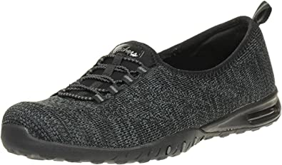 Skechers Womens Relaxed Fit Easy Air Shoes in Black