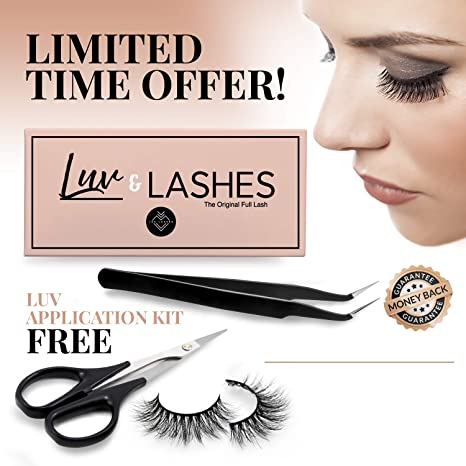 a47da56703b Amazon.com: MAGNETIC EYELASHES | Magnetic Lashes | Magnetic False Eyelashes  | similar Ardell Magnetic Eyelashes | Ebook from Luvlashes storefront
