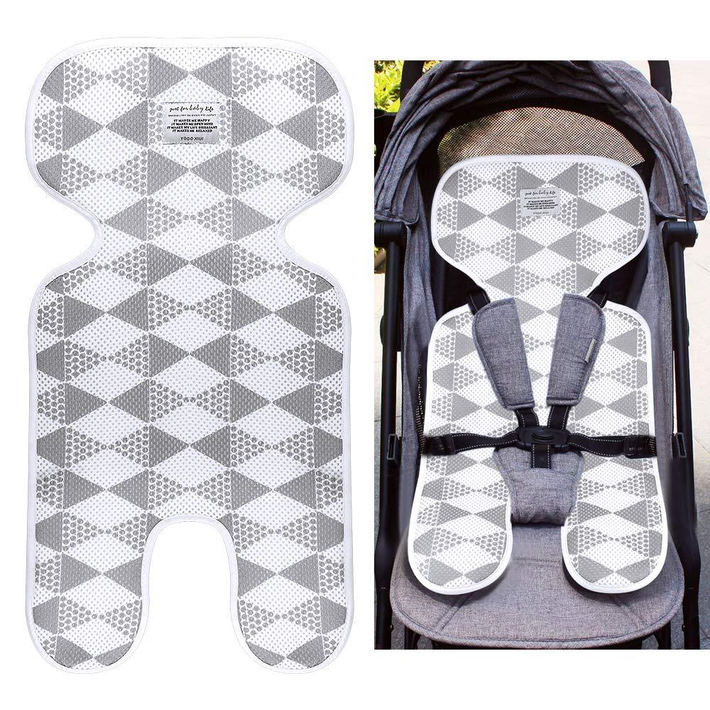 Locisne Cojín cómodo universal respirable cómodo del niño Cojín cómodo del asiento infantil del bebé recién nacido para el cochecito, cochecito de niño, cochecito, cochecillo, asiento de carro