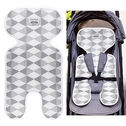 Locisne Cojín cómodo universal respirable cómodo del niño Cojín cómodo del asiento infantil del bebé recién nacido para el cochecito, cochecito de ...