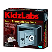 Kidz Labs - Spy Science - Alarmed Safe Bank - Boys Girls Children Kids - Secret Password Kit - Best New Toy Birthday Gift Present Fun Games & Toys Idea Age 8+
