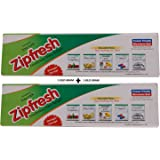 Amit Marketing Zipfresh Easy Lock Pouch Bags - Pack Of 2, Ama119