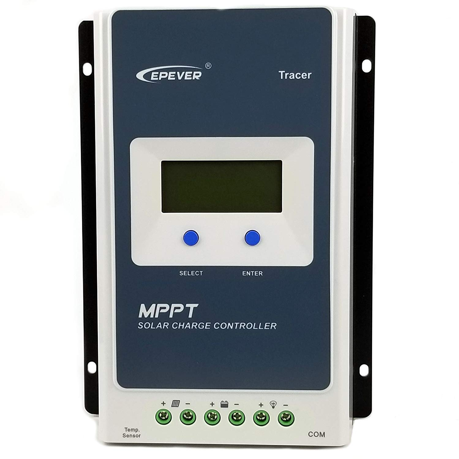 EPEVER MPPT Solar Charge Controller Tracer A Solar Controller+ Remote Meter MT-50 Solar Charge With LCD Display for Solar Battery Charging (30A+MT50 +RTS)