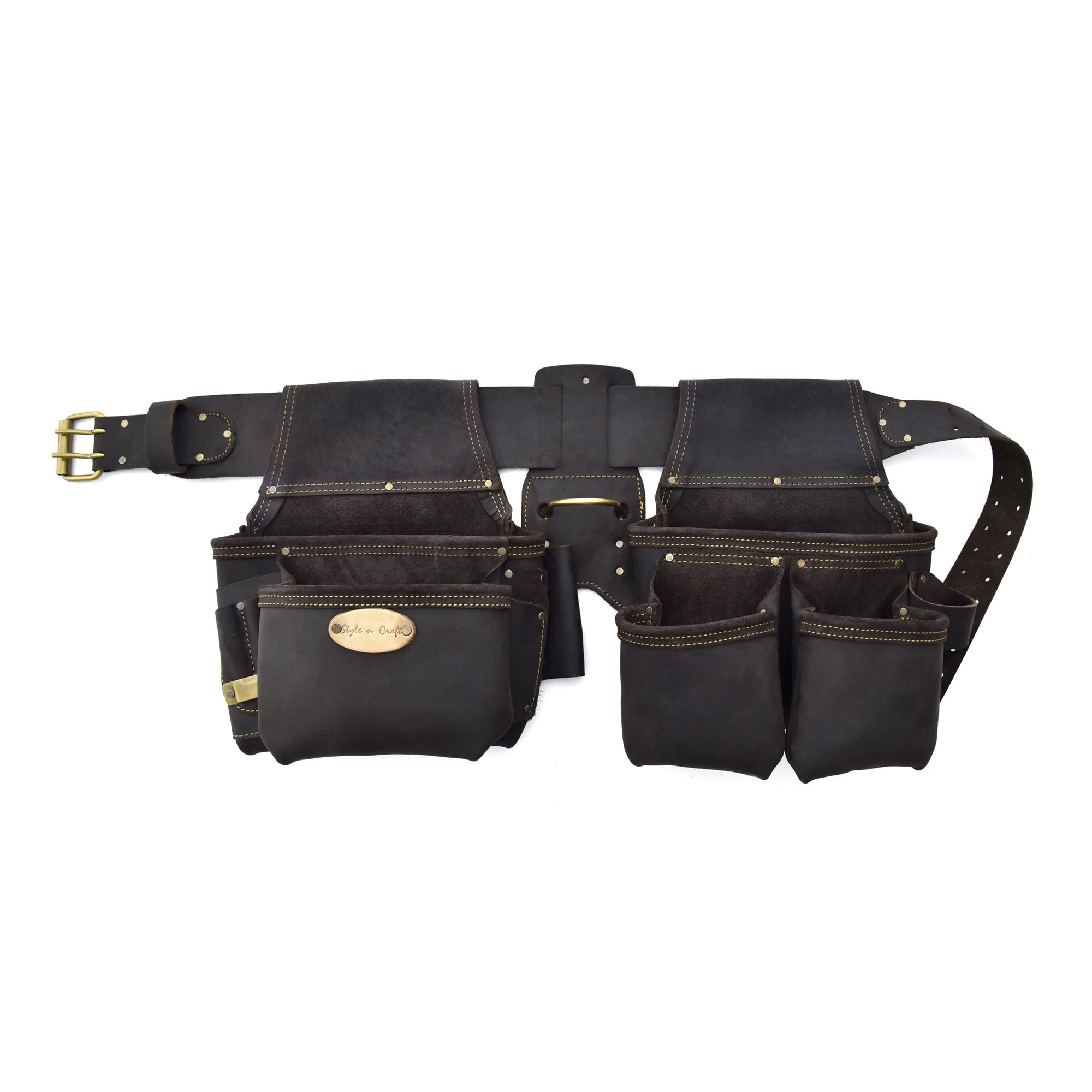 Style n Craft 90-429 4 Piece Framer's Combo in Heavy Duty Oiled Leather