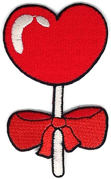 Saint Valentin Cœur Rouge Avec Nœud En Dessin Anime Sign Hippie