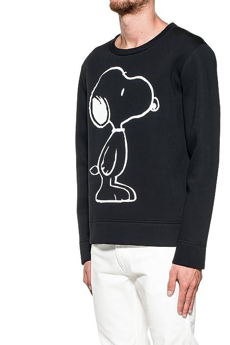 Gucci - Sudadera - para hombre, color negro, talla M IT - Marke Größe M: Amazon.es: Zapatos y complementos