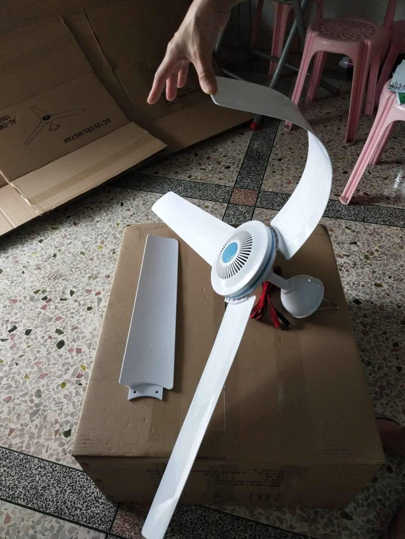12V DC Ceiling Fan Outdoor Gazebo Fan capony Ceiling Fan(42'' Inches)